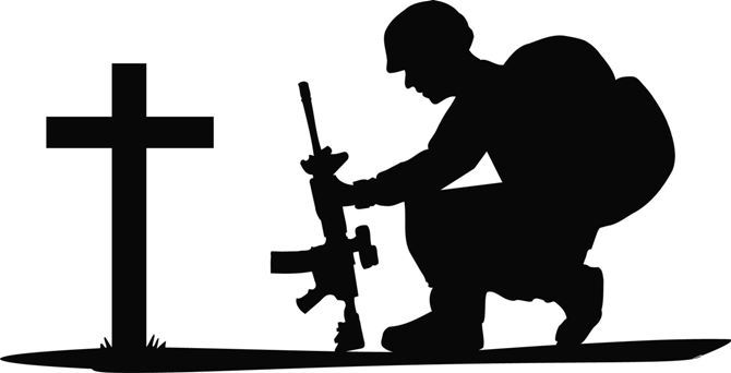 670x342 Soldiers Cross Clipart