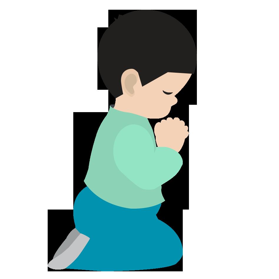 948x948 Children Praying Clipart