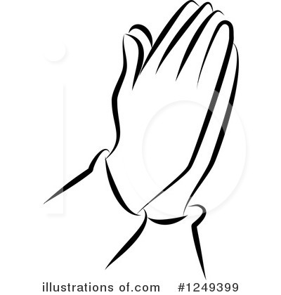 400x420 Praying Clipart
