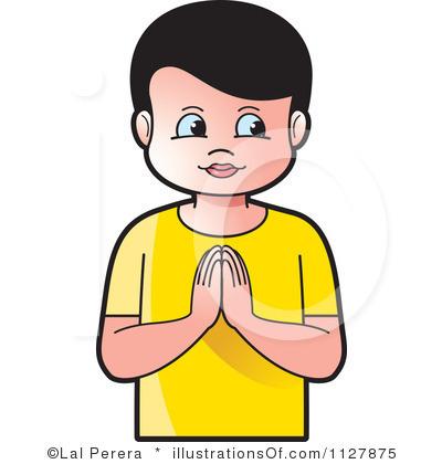400x420 Praying Child Clipart