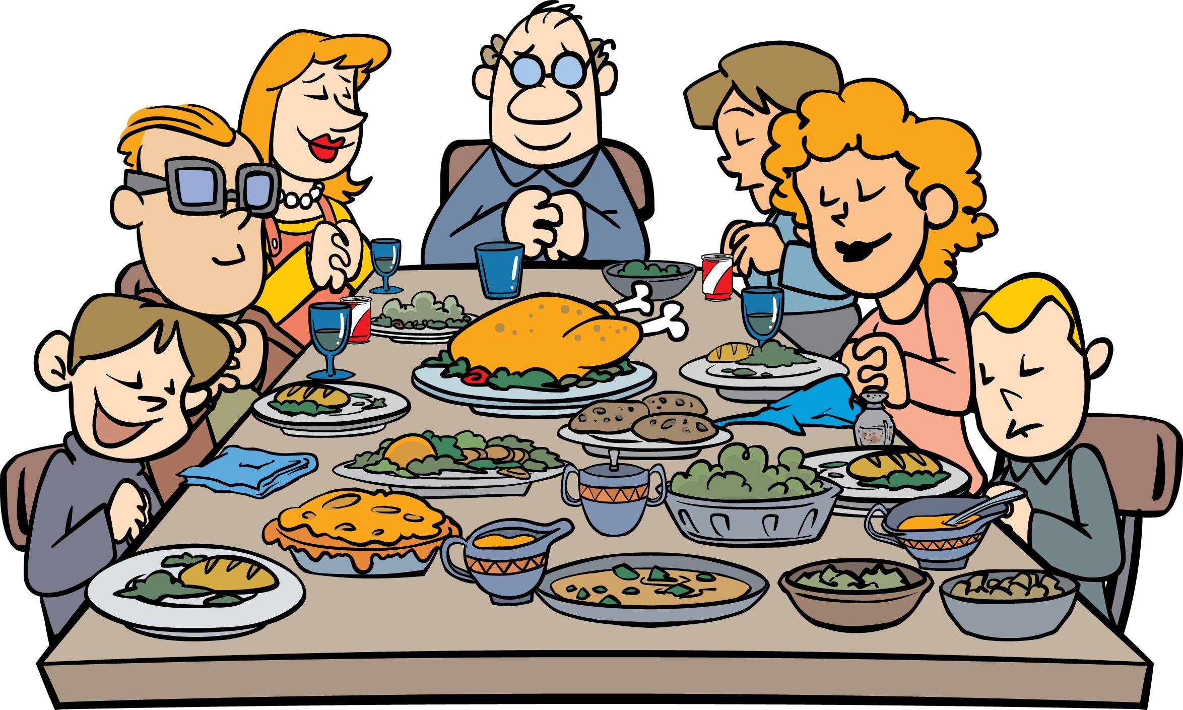 2348x1409 Thanksgiving Dinner Clip Art