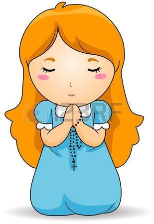 309x450 Girl Praying Clipart 101 Clip Art