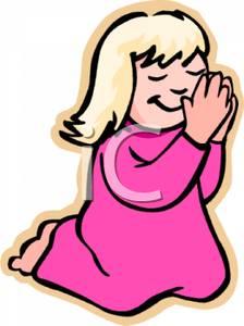 224x300 Little Girl Kneeling And Praying