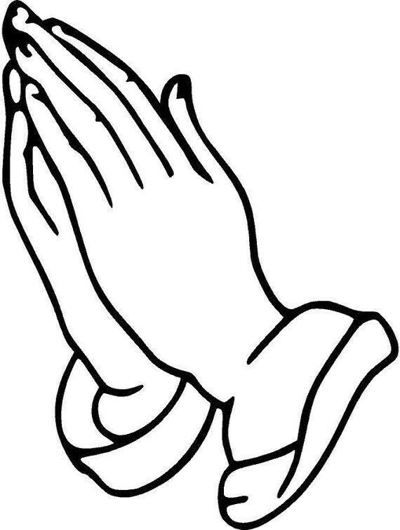 570x756 Praying Hands Clipart Images