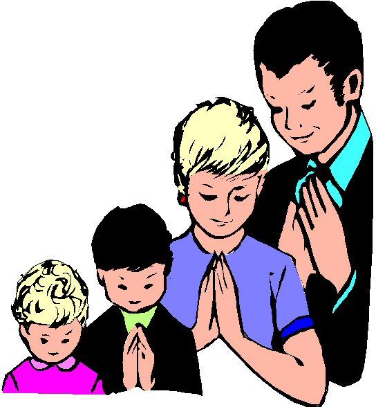 544x588 Prayer Family Praying Clipart