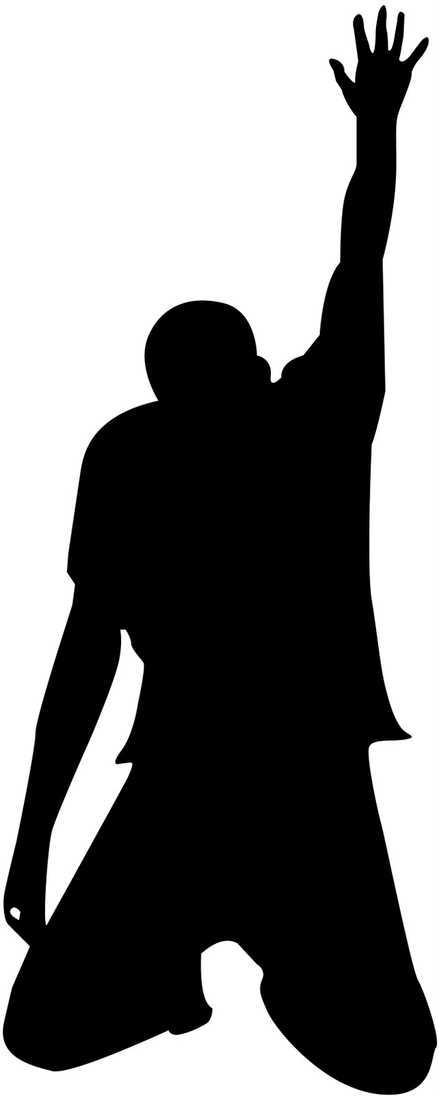 642x1600 Black Man Praying Clipart