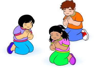 369x268 Children Praying Clipart