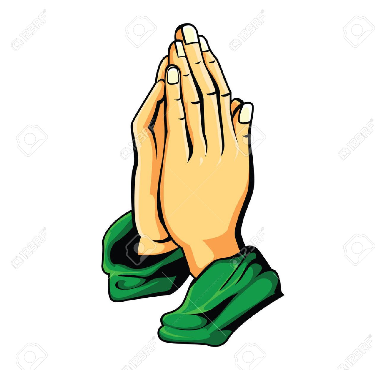 Praying Hand Image