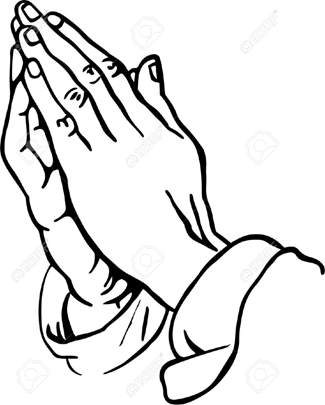 1044x1300 Praying Hands Clipart Stock Photo, Picture And Royalty Free Image
