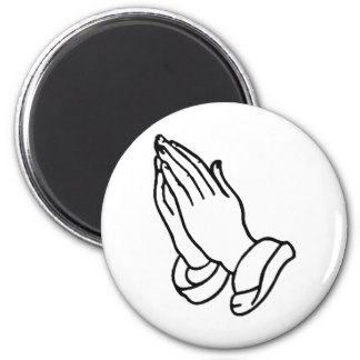 324x324 Praying Hands Refrigerator Magnets Zazzle