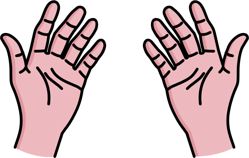 800x508 Clipart Of Hands