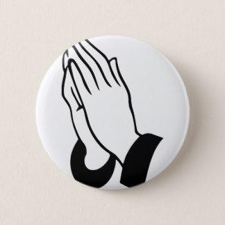 324x324 Praying Hands Buttons Amp Pins