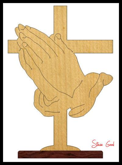 400x541 Cross Scroll Saw Patterns Scrollsaw Workshop Praying Hands