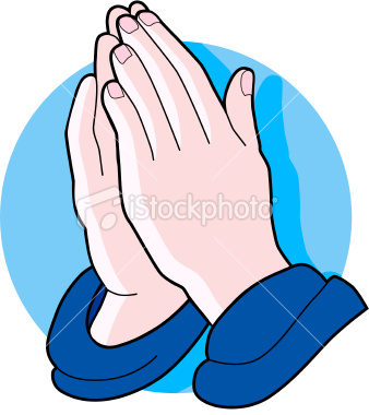 338x380 Gray Praying Hands Clip Art