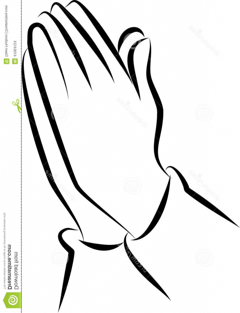 786x1024 Hands Praying Drawing Praying Hand Clipartsco