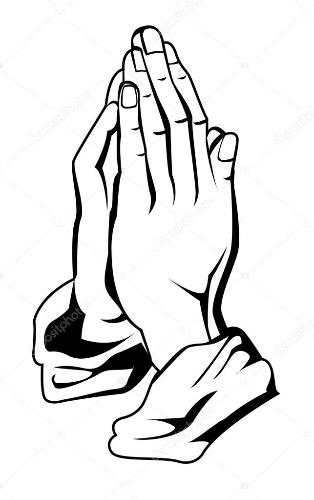 643x1023 Praying Hands Stock Vectors, Royalty Free Praying Hands