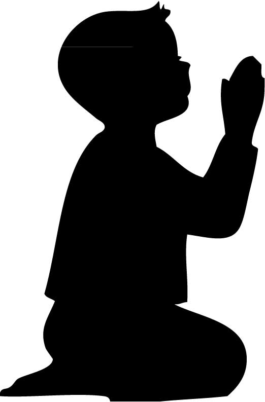522x793 Shadow Clipart Prayer