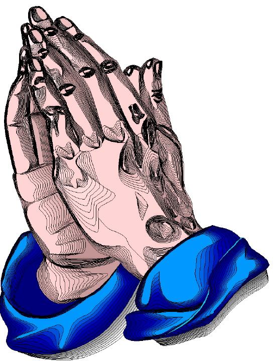 548x720 Praying Hands Clip Art