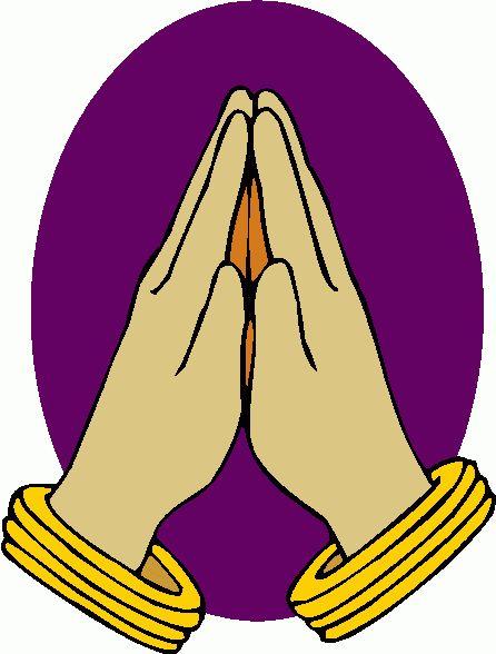 446x588 Clip Art Praying Hands