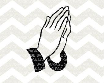 340x270 Praying Hands Svg Etsy