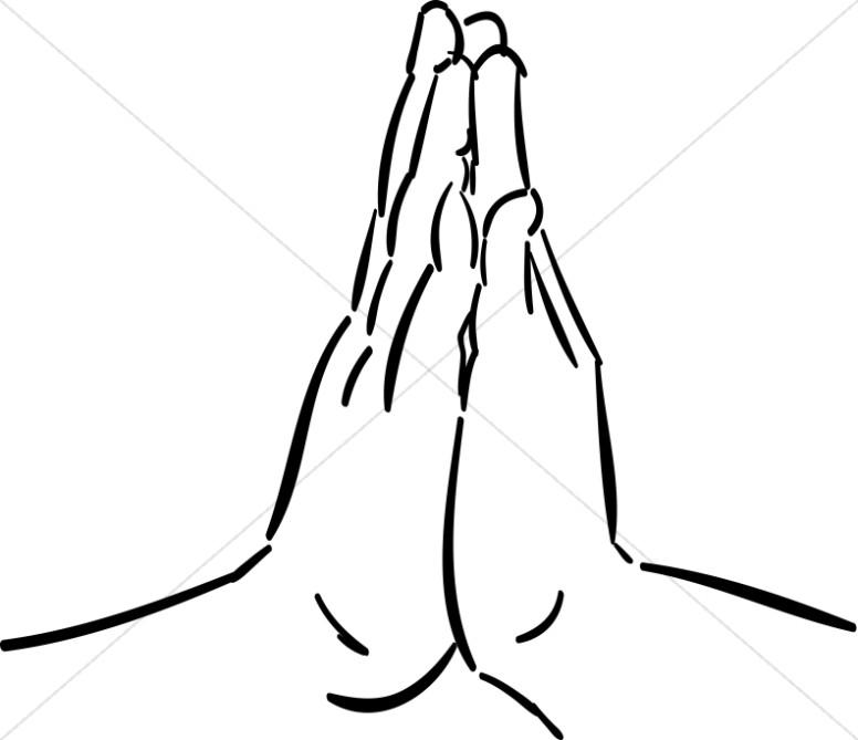 776x669 Hands Praying Clipart