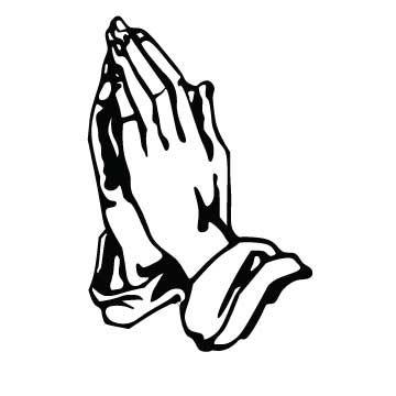 360x360 New Cartoon Praying Hands