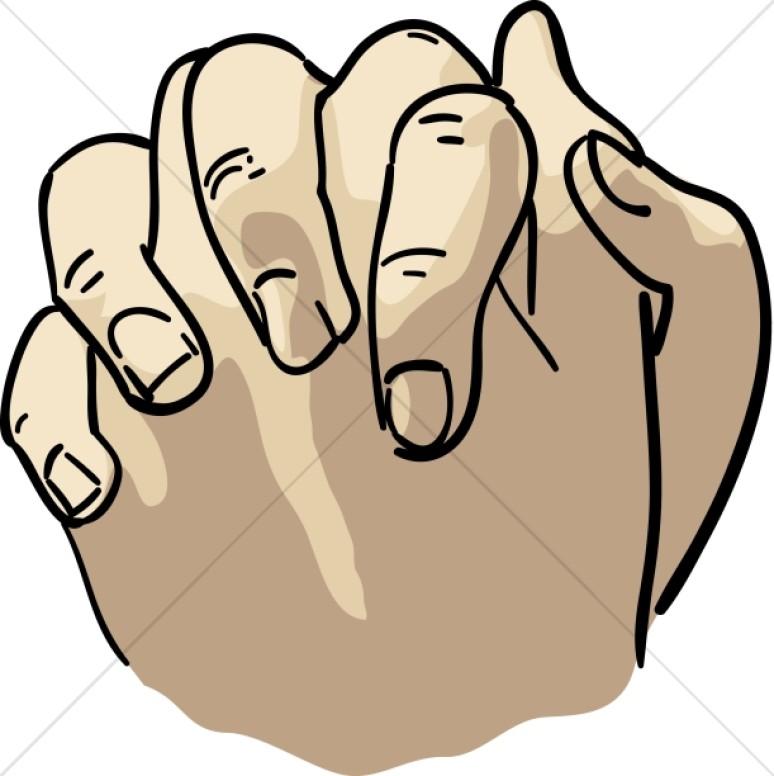 774x776 Praying Hands In Flesh Tones Prayer Clipart