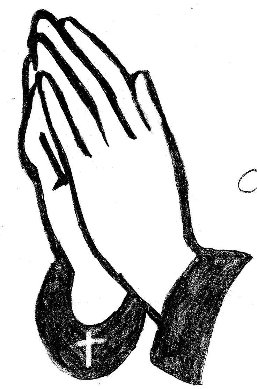 736x1112 Serenity Clipart Praying Hand