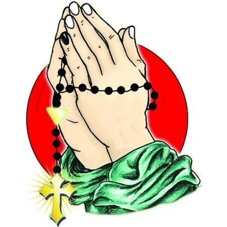 450x450 Praying Hands With Rosary Ghetto Urban,hands,praying,praying