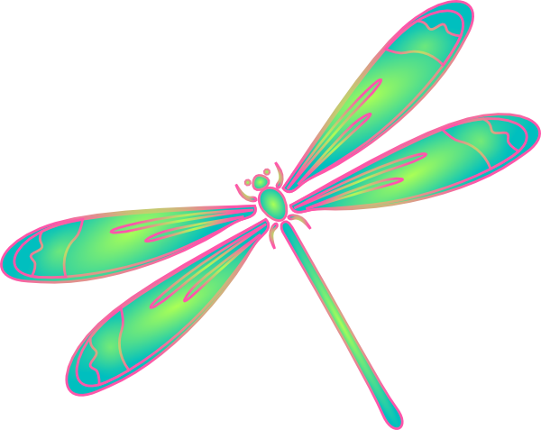 600x477 Free Dragonfly Clipart Image