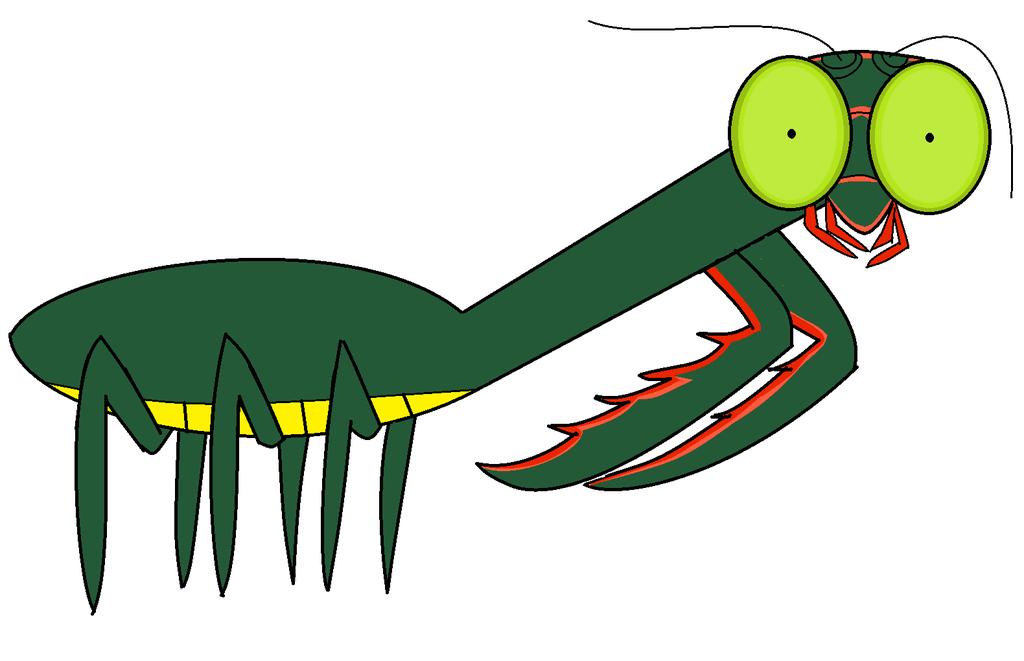 1024x661 Giant Praying Mantis From Goosebumps! By Shreddtn100