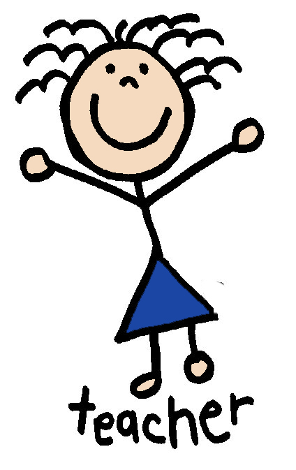 424x673 Preschool Teacher Clipart