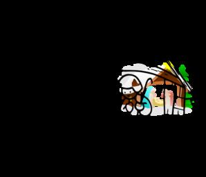 298x255 Manger House Clip Art