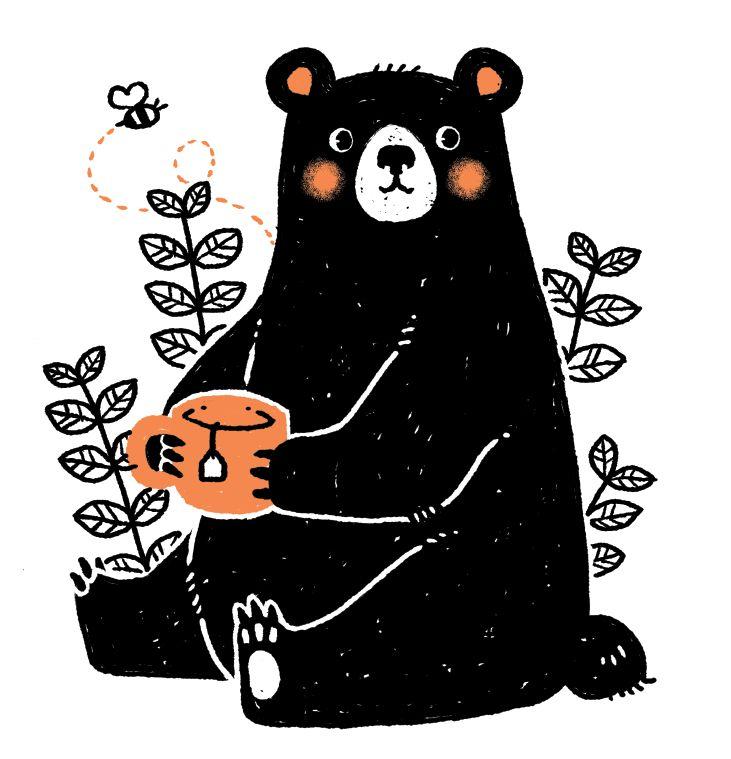 731x759 Top 65 Black Bear Clip Art