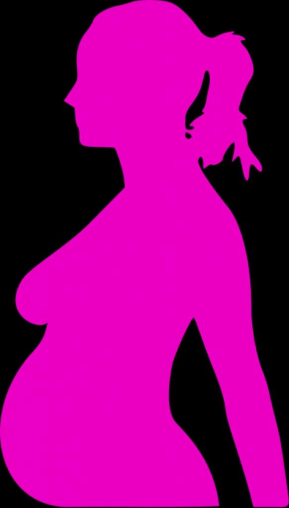 583x1024 Pregnant Woman Silhouette Clip Art Clipart Best40 Png Pregnant