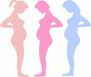 Pregnant Silhouette Clipart