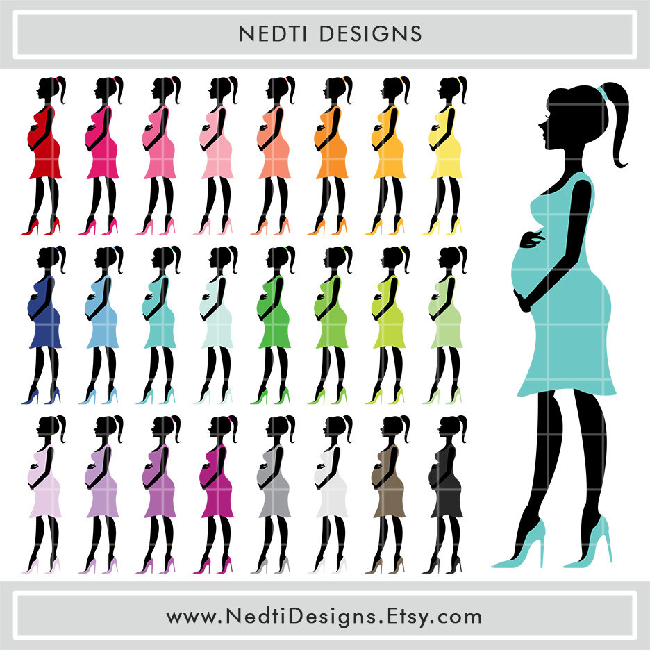 936x936 Pregnant Woman Clipart Rainbow Color Pregnant Mom Expecting