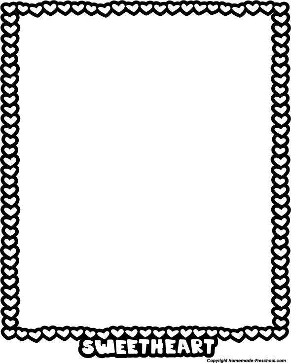 590x736 Preschool Border Clip Art Clipart Panda