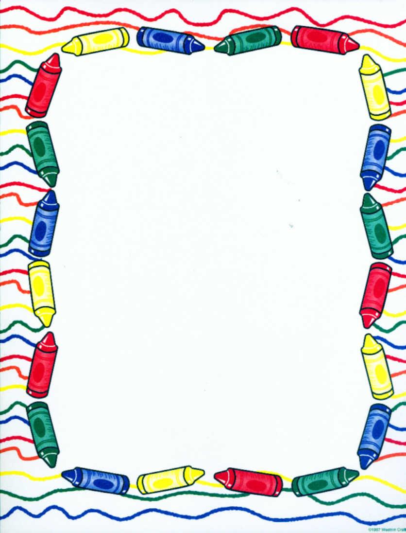Preschool Border | Free download on ClipArtMag