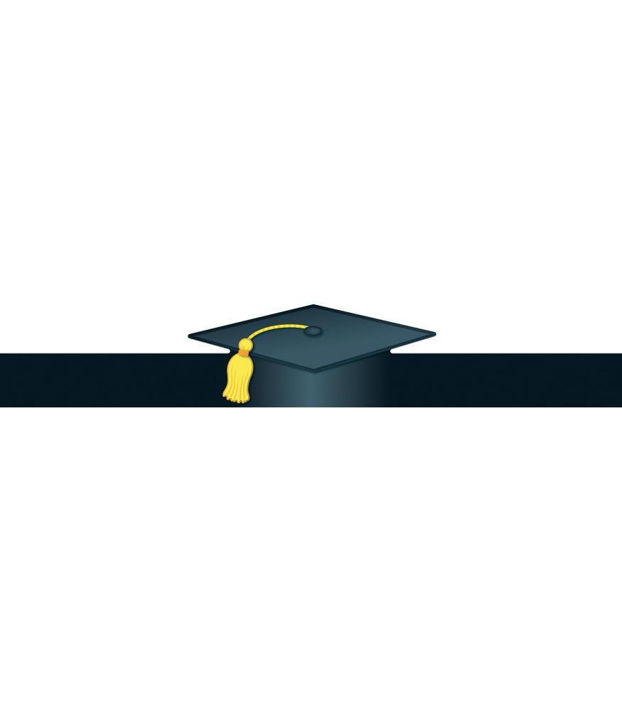 875x1000 Best Graduation Border