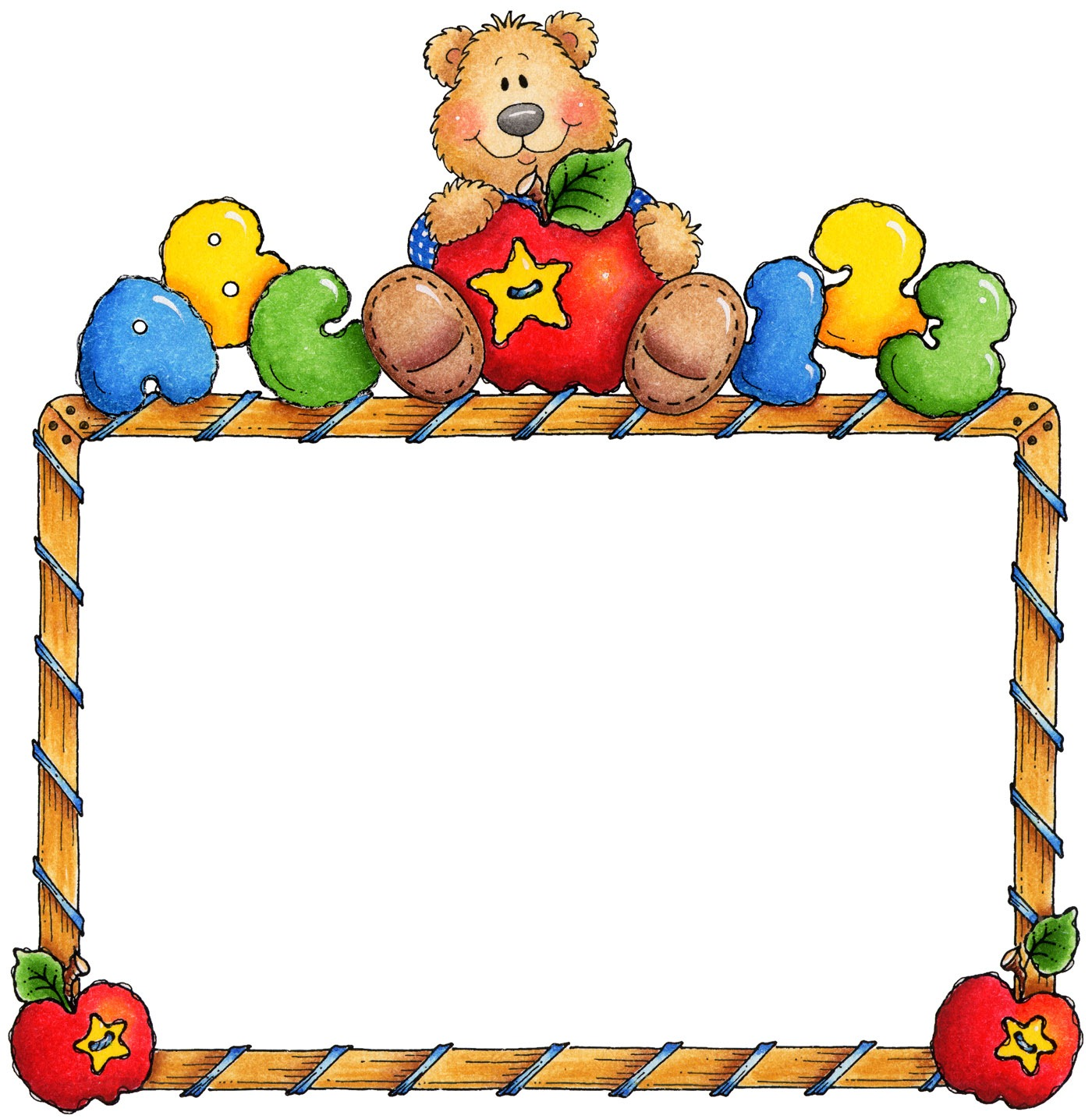 Preschool Border Clipart | Free download on ClipArtMag