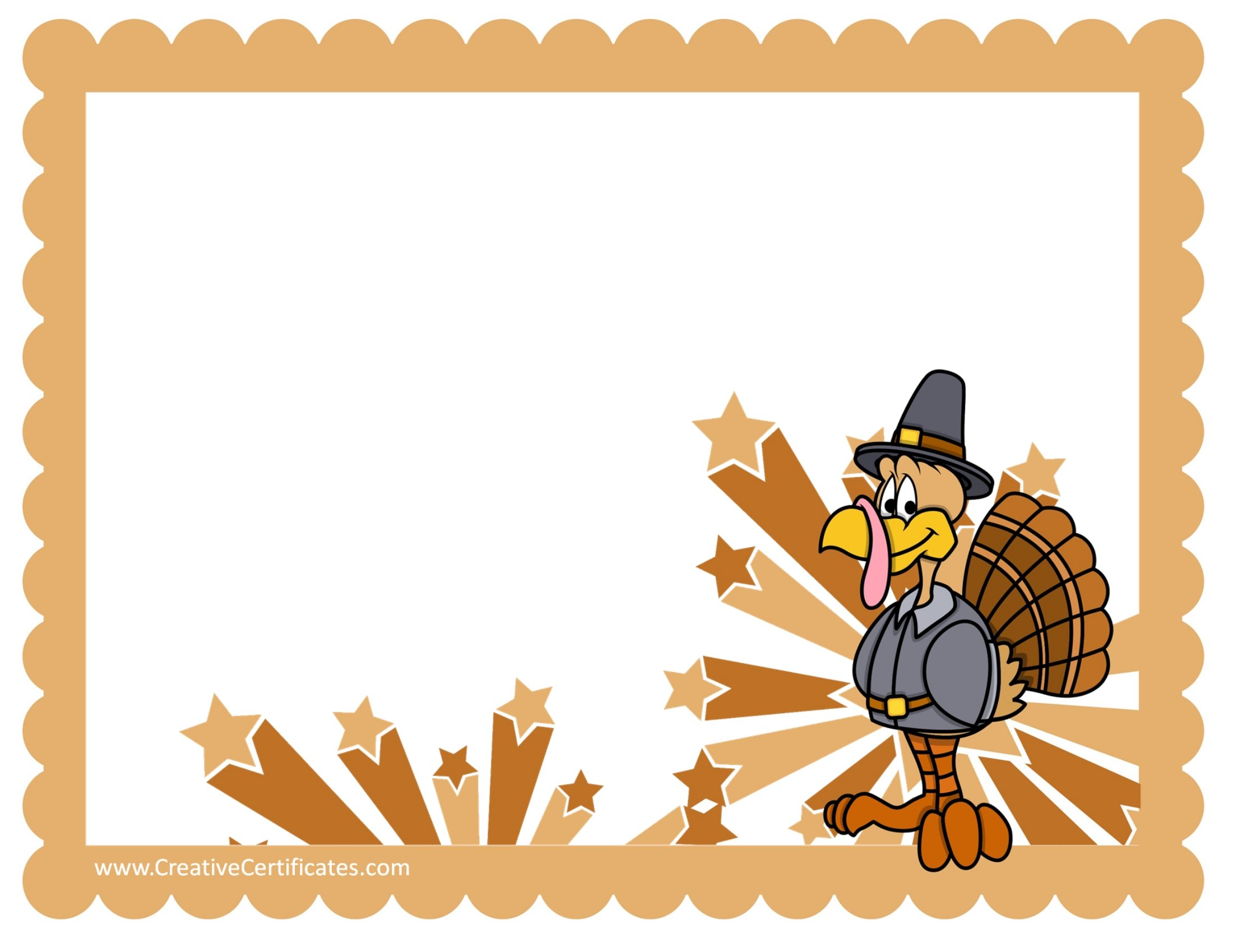 2200x1700 Free Thanksgiving Border Templates