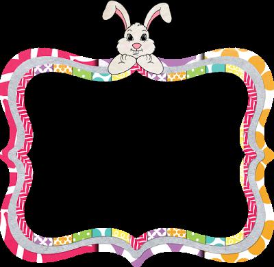 400x390 Bunny Clipart Frame