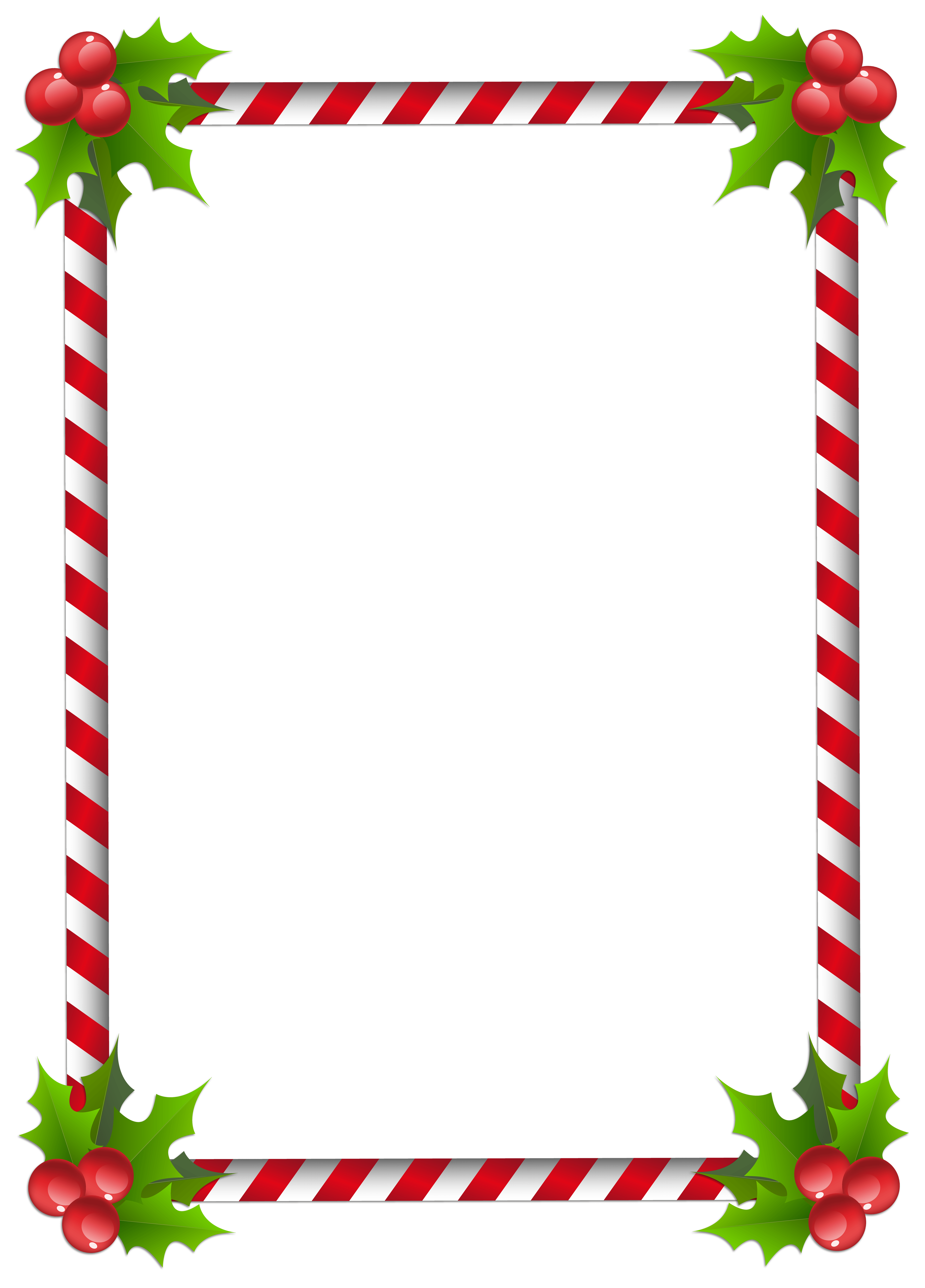 5746x8000 Christmas Border Transparent Merry Christmas And Happy New Year 2018