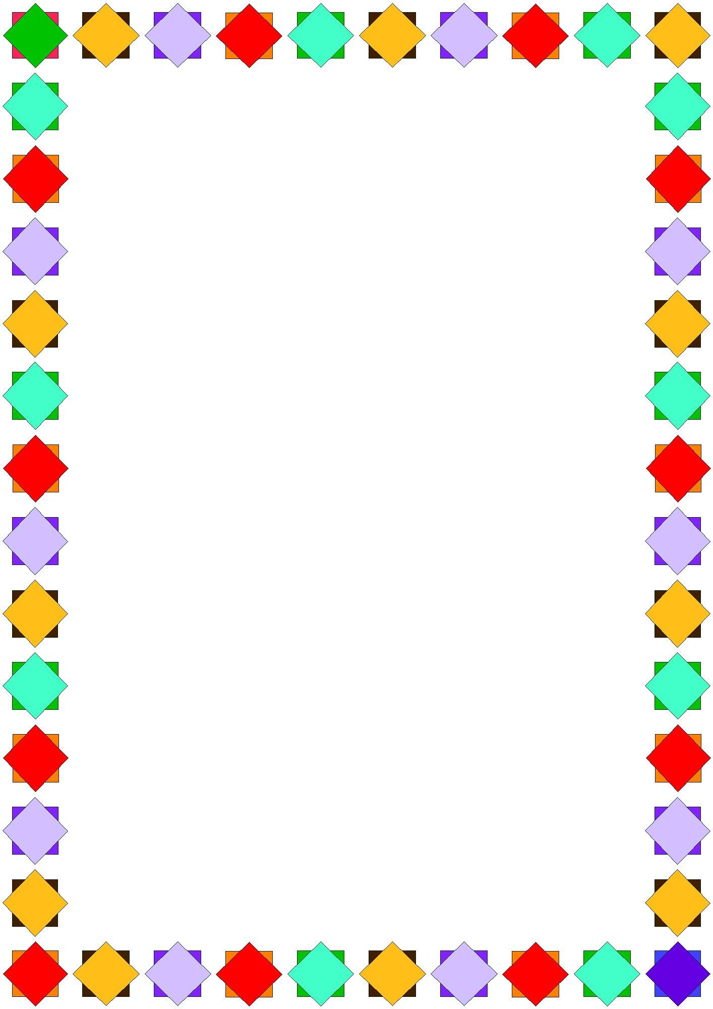 1414x2000 Fun Page Borders