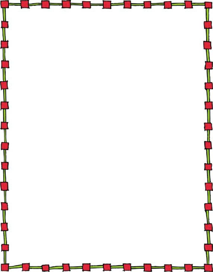 718x918 Preschool Clip Art Borders