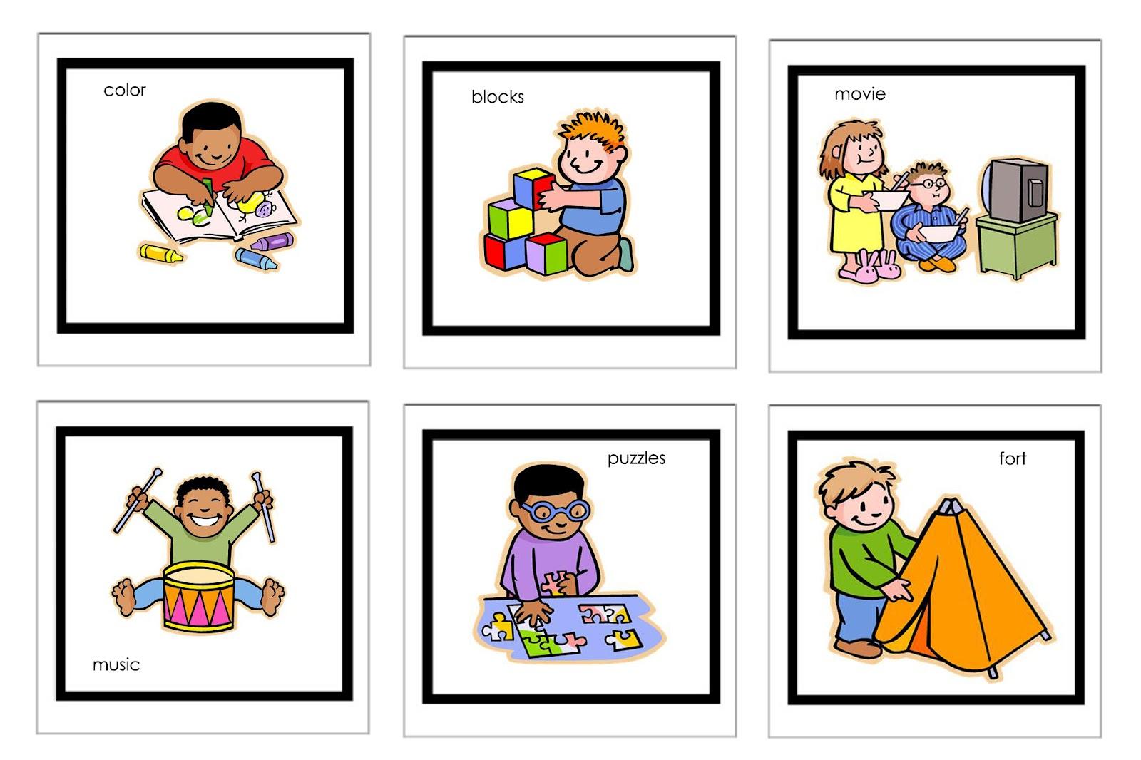 1600x1066 Preschool Daily Schedule Clipart