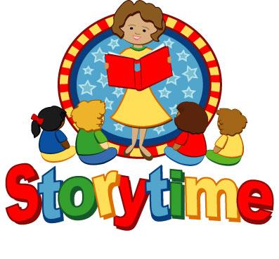 397x368 Preschool Story Time Clipart
