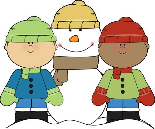 500x416 Preschool Winter Clip Art