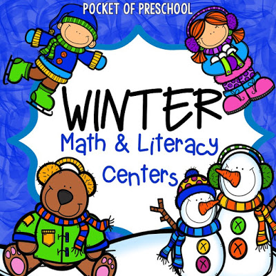 400x400 Winter Themed Activities And Centers (Snowman